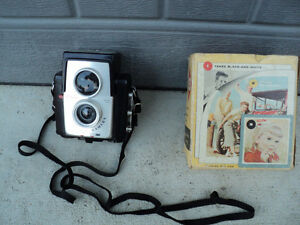 Brownie Starflex camera ~ oldie but goodie! ~ takes colour + B&W