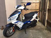 Lexmoto fmr 125cc 2016 swap for car