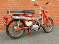 HONDA CT200 90cc 1966 CLASSIC MOTORCYCLE UNDER 125CC LEARNER LEGAL