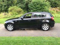 2005 55 PLATE BMW 116i ES 5 DR HATCH IN BLACK