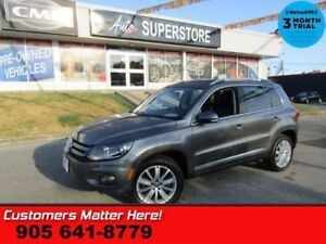2015 Volkswagen Tiguan Highline  AWD NAV PANO-ROOF LEATH 10W-SEA