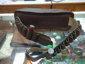 Vintage Leather Ammo Belt