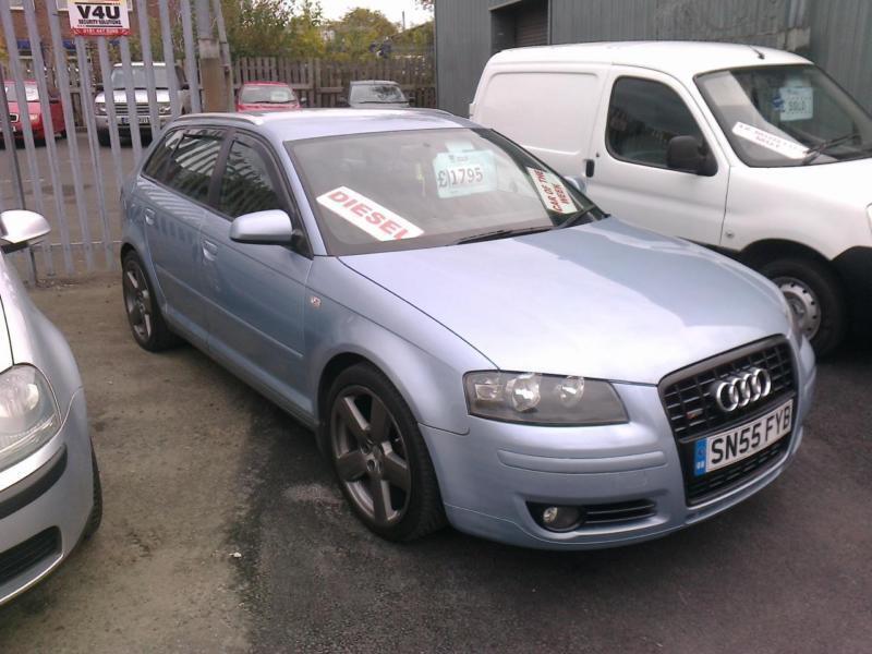 2005 55 reg Audi a3 2,0 tdi 5 door hatch