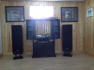 Stereo system and unit
