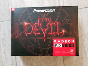 PowerColor Red Devil RX 580 8Gb Gaming gpu
