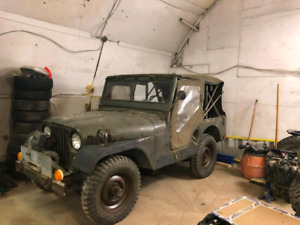 1953 Military Jeep