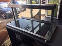 Food warmer display tray