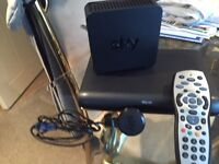 Sky multi screen box and router