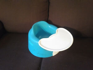Teal Bumbo Seat with Tray