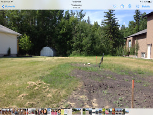 PIGEON LAKE LOT.....FOR A NEW LIFESTYLE