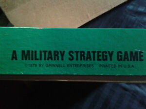VINTAGE 1979 Military Strategy Game U.S.  COLLECTABLE London Ontario image 6