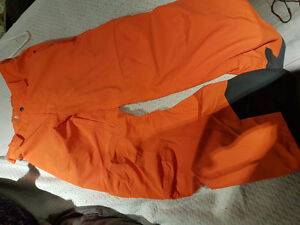 Helly Hanson orange snow pants
