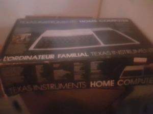 Texas instruments vintage home computer