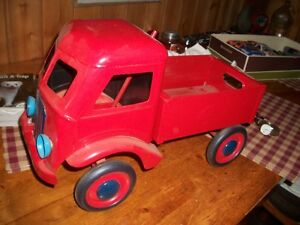 very old large toy truck