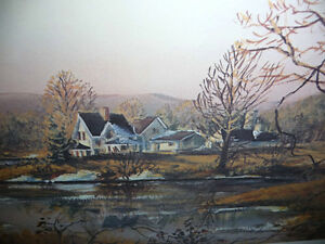 "Peter Robson ""Prelude To Spring"" Signed and Numbered Print Stratford Kitchener Area image 8"