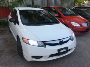 "2009 Honda Civic DX-G ""CERTIFIED/NO ACCIDENT/LOW KM/2YR WARRANTY"