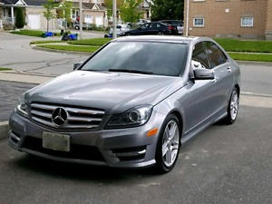 2012 Mercedes Benz C300 with AMG package
