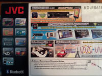 JVC Bluetooth car stereo