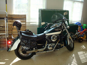 1997 Kawasaki Vulcan Clasic 1500ccm, motorcycle, with bags, bike