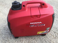 Honda eu10i inverter generator genny 240v 12v 8amp excellent condition off grid barge boat caravan