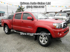 2009 Toyota Tacoma TRD Crew Cab 4x4 Low kms Pickup Truck