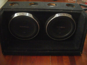 12 Subs and cabinet for sale in Truro