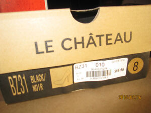 Le Chateau high heels Shoes - Black-size 8M - Still in Box Peterborough Peterborough Area image 2