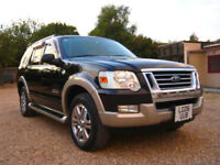 FRESH IMPORT 2006 LHD FORD EXPLORER EDDIE BAUER 4.6 V8 AUTOMATIC 7 SEATER BLACK