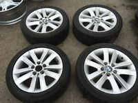"22"" BMW alloy wheels alloys rims tyre tyres 5x120 vw Volkswagen transporter t5"