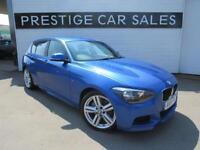 2014 BMW 1 Series 2.0 120d M Sport Sports Hatch (s/s) 5dr Diesel blue Manual