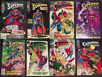 Death of Superman series comic books & others