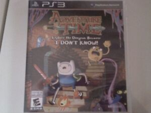 Jeu playstation 3 Adventure time Explore the dungeon because i d