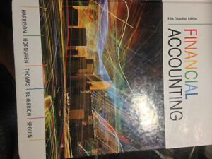 Arts 1110 textbook, Accounting 1100 textbook
