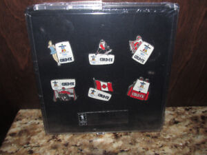COLD-FX 2010 Vancouver Olympic Pin Set (MINT)