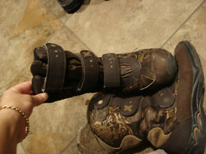 Girls Geox Winter Boots Size 1 Youth