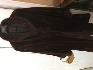 Mink Fur reversible Coat