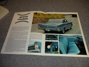 1967 ORIGINAL CHEVY 2 BROCHURE London Ontario image 3