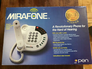 NIB phone for the hearing impaired