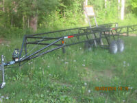 Pontoon Trailer Rental