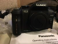 Panasonic DMC-G2 DSLR camera