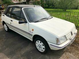 91 Peugeot 205 CJ 1.4 Convertible £1995 Classic