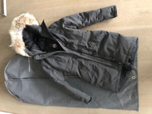 Brand New XS Canada Goose Rossclair in graphite for sale