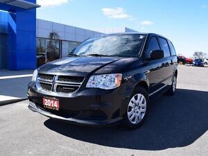 2014 Dodge Grand Caravan SE/SXT   STOW AND GO SEATING - GREAT FA
