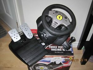 Volant de course Guillemot FERRARI Force feedback racing wheel