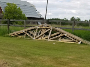 """24' 6"""" trusses for sale"""