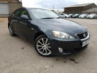 LEXUS IS 220D 2.2 SE-L TOP OF RANGE,HPI CLEAR,2 OWNER,FULL DEALER SERVIC HISTORY,CREAM LEATHER,XENON