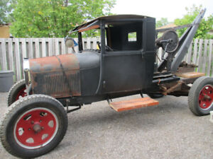 1929 FORD MODEL AA     1 AND 1/2 TON TRUCK