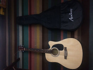 Really good acoustic guitar that turns into electric guitar