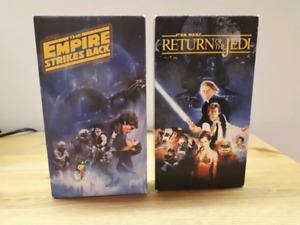 Star Wars VHS Tapes