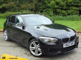 2013 62 BMW 1 SERIES 2.0 118D M SPORT 5D 141 BHP DIESEL